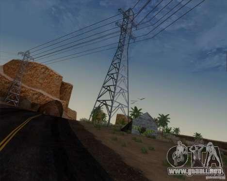 HQ Country N2 Desert para GTA San Andreas sucesivamente de pantalla