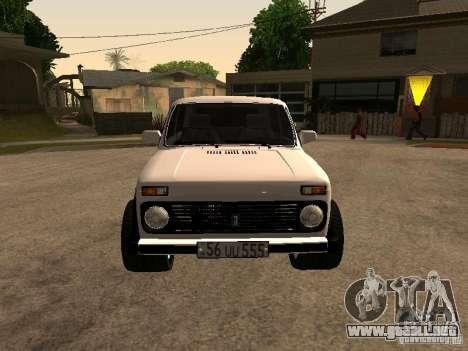 Armenian NIVA DORJAR 4 x 4 para GTA San Andreas left