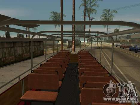 LIAZ 677 excursión para GTA San Andreas vista hacia atrás