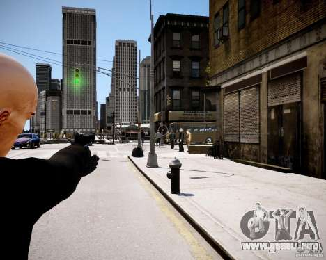 Hitman Blood Money Skin para GTA 4 tercera pantalla