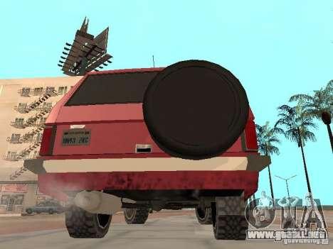 El nuevo Huntley para la visión correcta GTA San Andreas