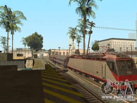 Coche de pasajeros RZD v2.0 para la visión correcta GTA San Andreas