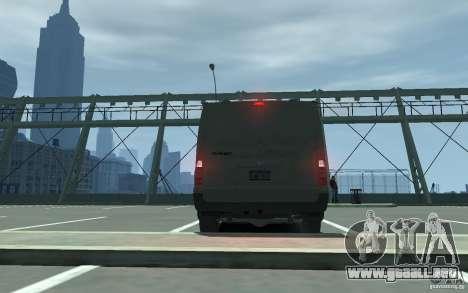 Ford Transit 2011 para GTA 4 visión correcta
