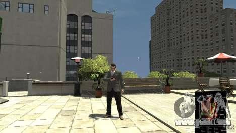 Ganja PhoneCell Theme para GTA 4 segundos de pantalla