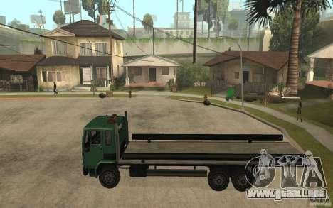 DFT30 Dumper Truck para GTA San Andreas left