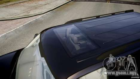 Chevrolet Suburban Z-71 2003 para GTA 4 vista desde abajo