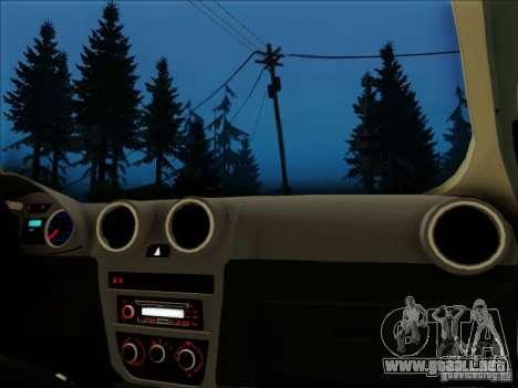 Volkswagen Saveiro 2014 para la visión correcta GTA San Andreas