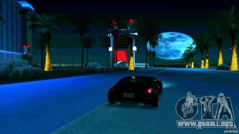 Nissan 350Z JDM para visión interna GTA San Andreas