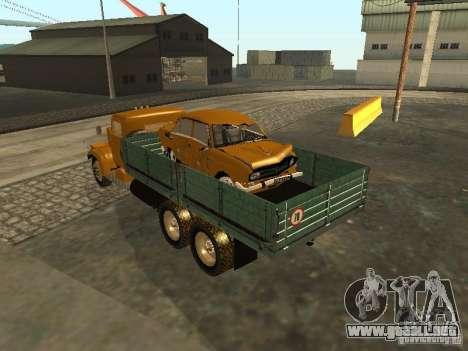 Remolque de camión KrAZ v. 2 para la visión correcta GTA San Andreas