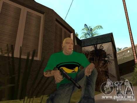 Piel Eminema para GTA San Andreas séptima pantalla
