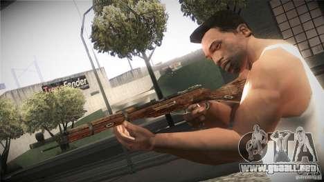 Weapon Pack by GVC Team para GTA San Andreas octavo de pantalla