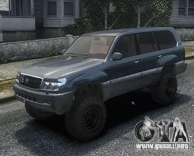 Toyota Land Cruiser 100 para GTA 4