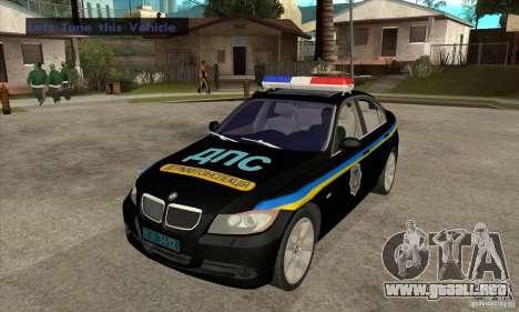 BMW 3 Series DPS para GTA San Andreas