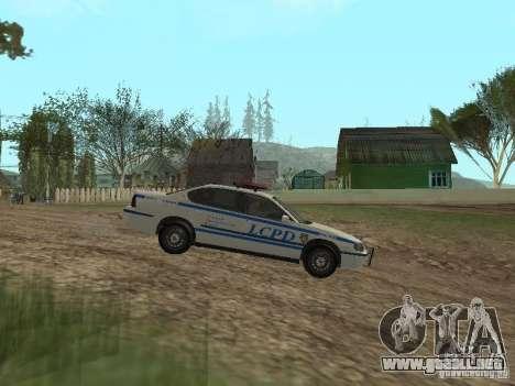 Policía de GTA 4 para GTA San Andreas left