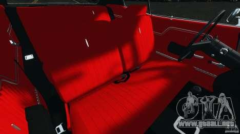 Chevrolet Chevelle SS 1970 v1.0 para GTA 4 vista interior