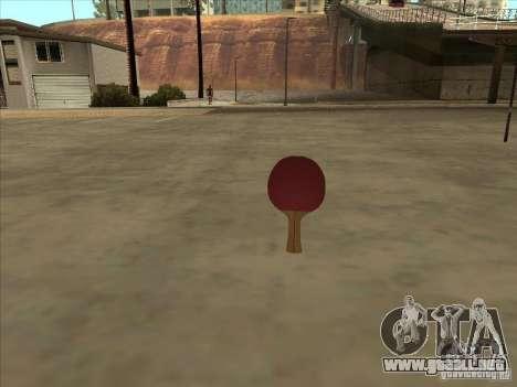 Raqueta de tenis para GTA San Andreas