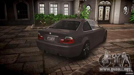 BMW 3 Series E46 v1.1 para GTA 4 vista interior