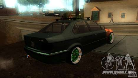 BMW E36 Daily para GTA San Andreas left