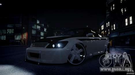 Sultan RS 3.0 para GTA 4 vista superior