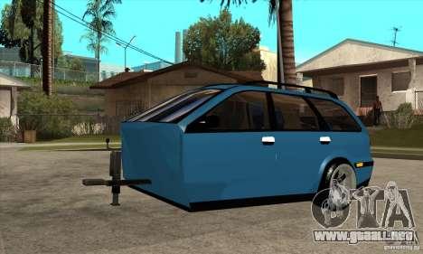 Remolque para el Volvo V40 para GTA San Andreas
