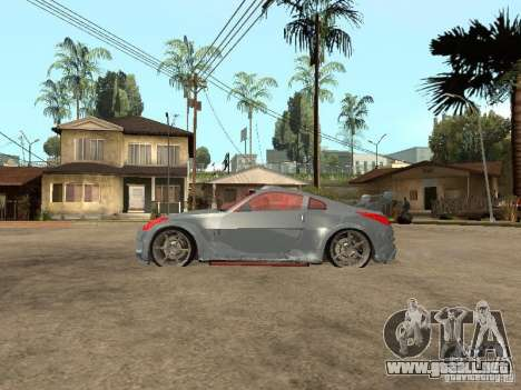 Nissan 350Z Virgo para GTA San Andreas left