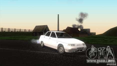 Drenaje VAZ 2110 para la visión correcta GTA San Andreas