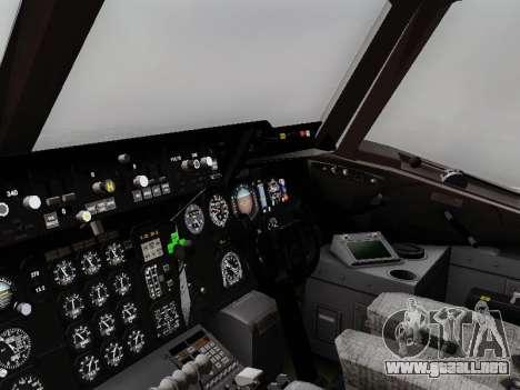 McDonell Douglas KC-10A Extender para GTA San Andreas vista hacia atrás