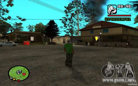 New Grove-Street para GTA San Andreas tercera pantalla