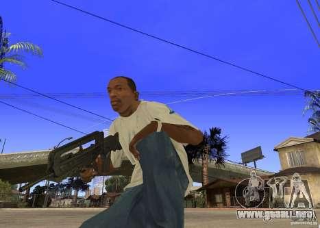 Famas-F1 para GTA San Andreas segunda pantalla