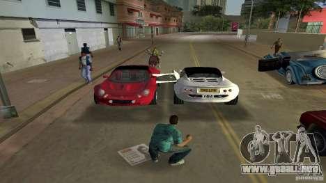 Lotus Elise para GTA Vice City visión correcta