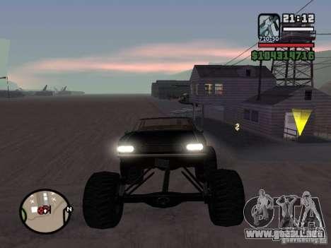 Monster Tampa para GTA San Andreas