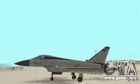 EF-2000 Typhoon V1.3 para visión interna GTA San Andreas