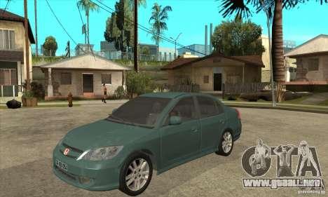 Honda Civic 2005 para GTA San Andreas