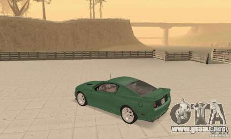 Saleen S281 v2 para visión interna GTA San Andreas