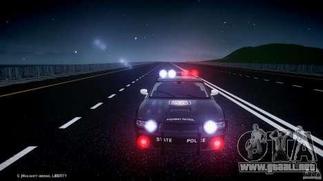 Dodge Charger SRT8 Police Cruiser para GTA 4 ruedas