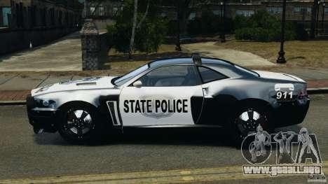 NFSOL State Police Car para GTA 4 left