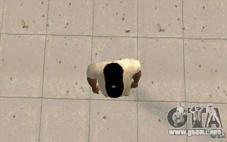 Casquillo newyorkyankiys negro para GTA San Andreas tercera pantalla