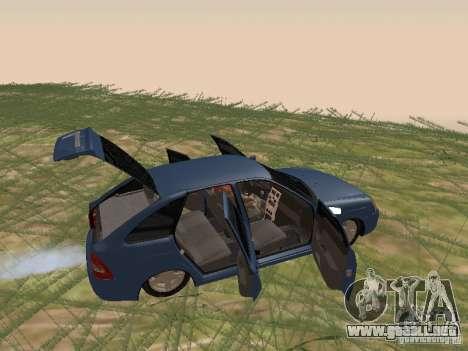 LADA 2170 Hatchback para GTA San Andreas vista hacia atrás