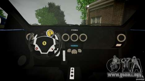 Ferrari F430 v1.1 2005 para GTA 4 vista hacia atrás