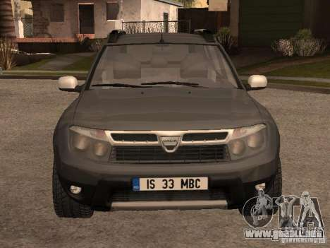 Dacia Duster para GTA San Andreas left