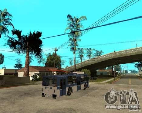 ZiU 52642 para GTA San Andreas vista posterior izquierda