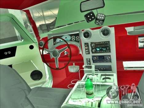 Hummer H2 Phantom para visión interna GTA San Andreas