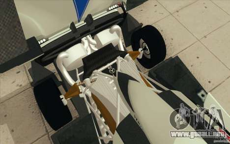Pagani Zonda Racing Edit para vista inferior GTA San Andreas
