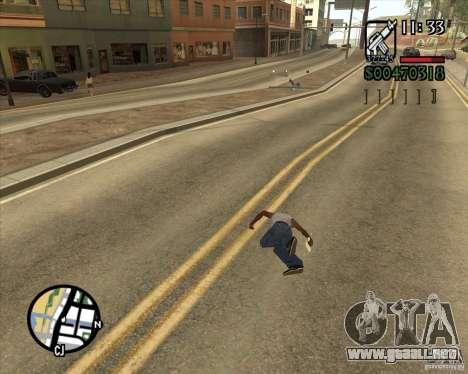 Endorphin Mod v.3 para GTA San Andreas undécima de pantalla