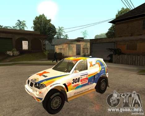 BMW X3CC X-Raid para GTA San Andreas left