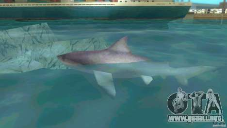 Shark Boat para GTA Vice City left