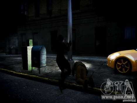 Spider Man Black Suit para GTA 4 adelante de pantalla