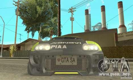 Toyota Supra Tunable 2 para las ruedas de GTA San Andreas