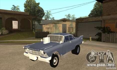 Plymouth Savoy Gasser 1957 para GTA San Andreas