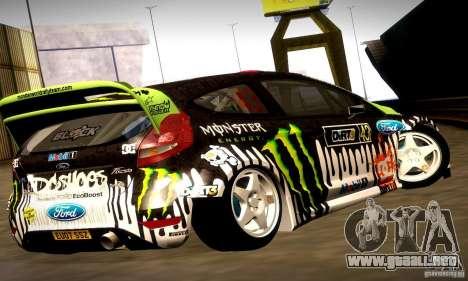 Ford Fiesta Gymkhana 4 para GTA San Andreas interior
